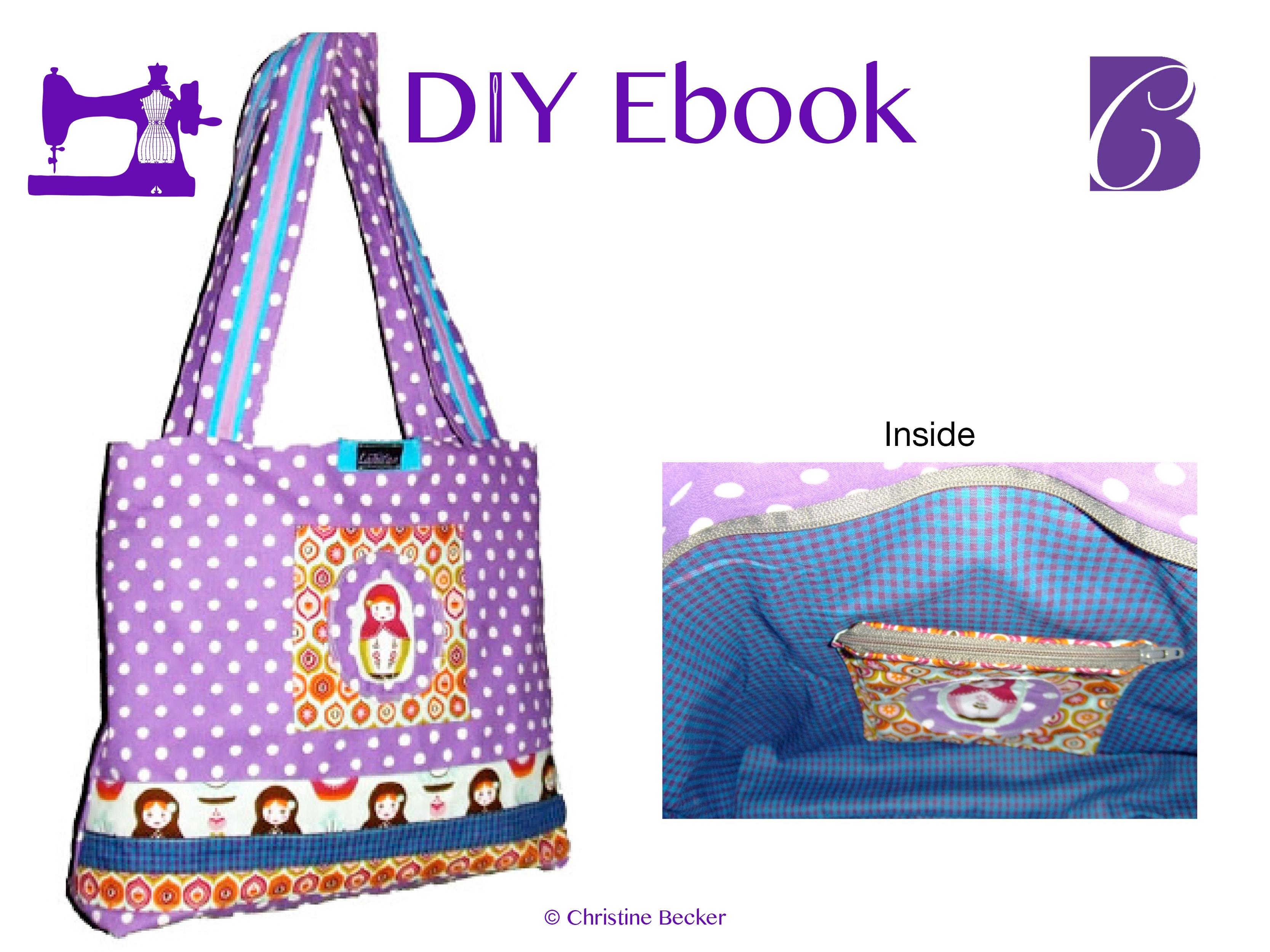 DIY E-Book Shopper med glidelås
