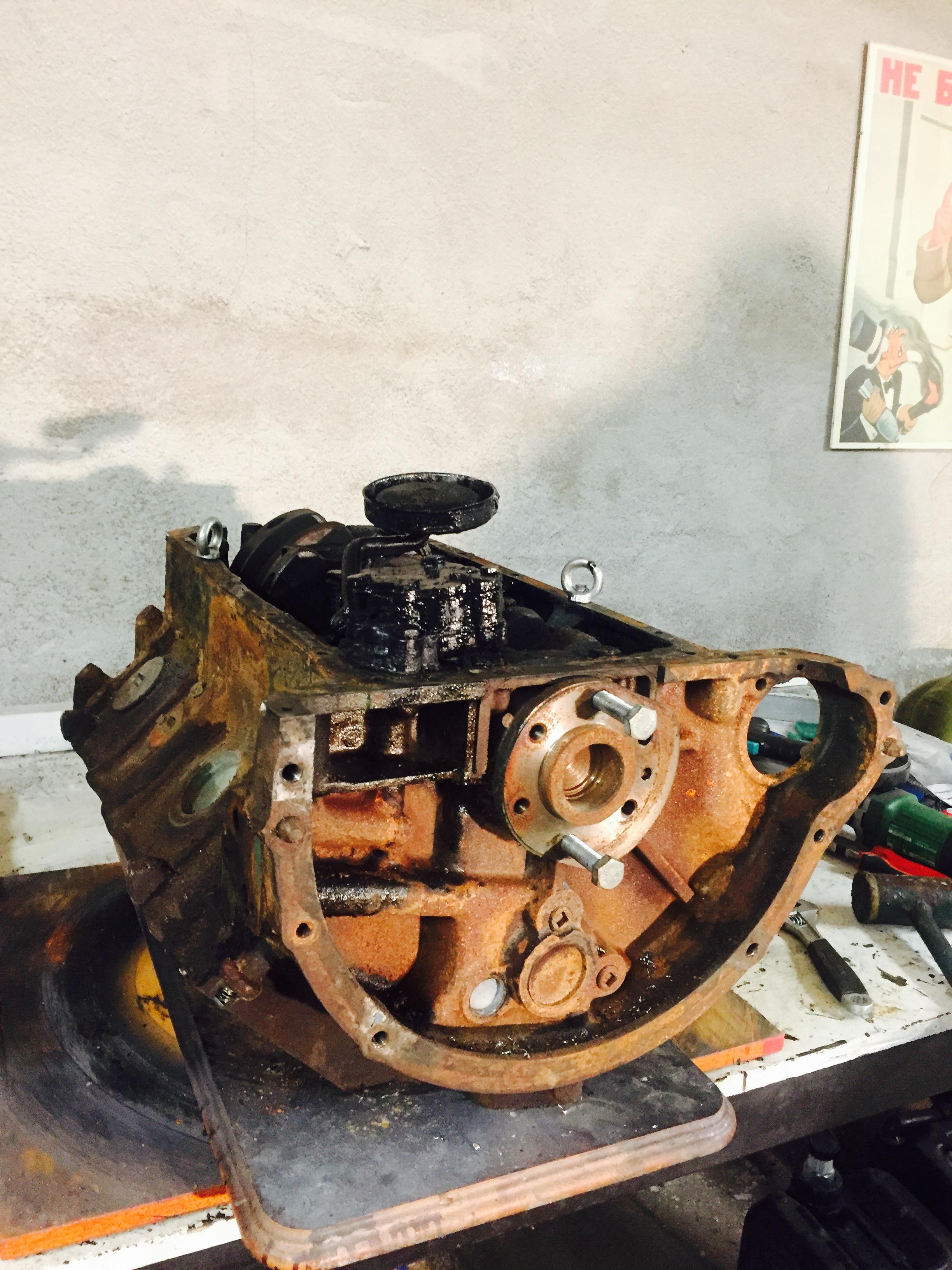 Old V8 Motor