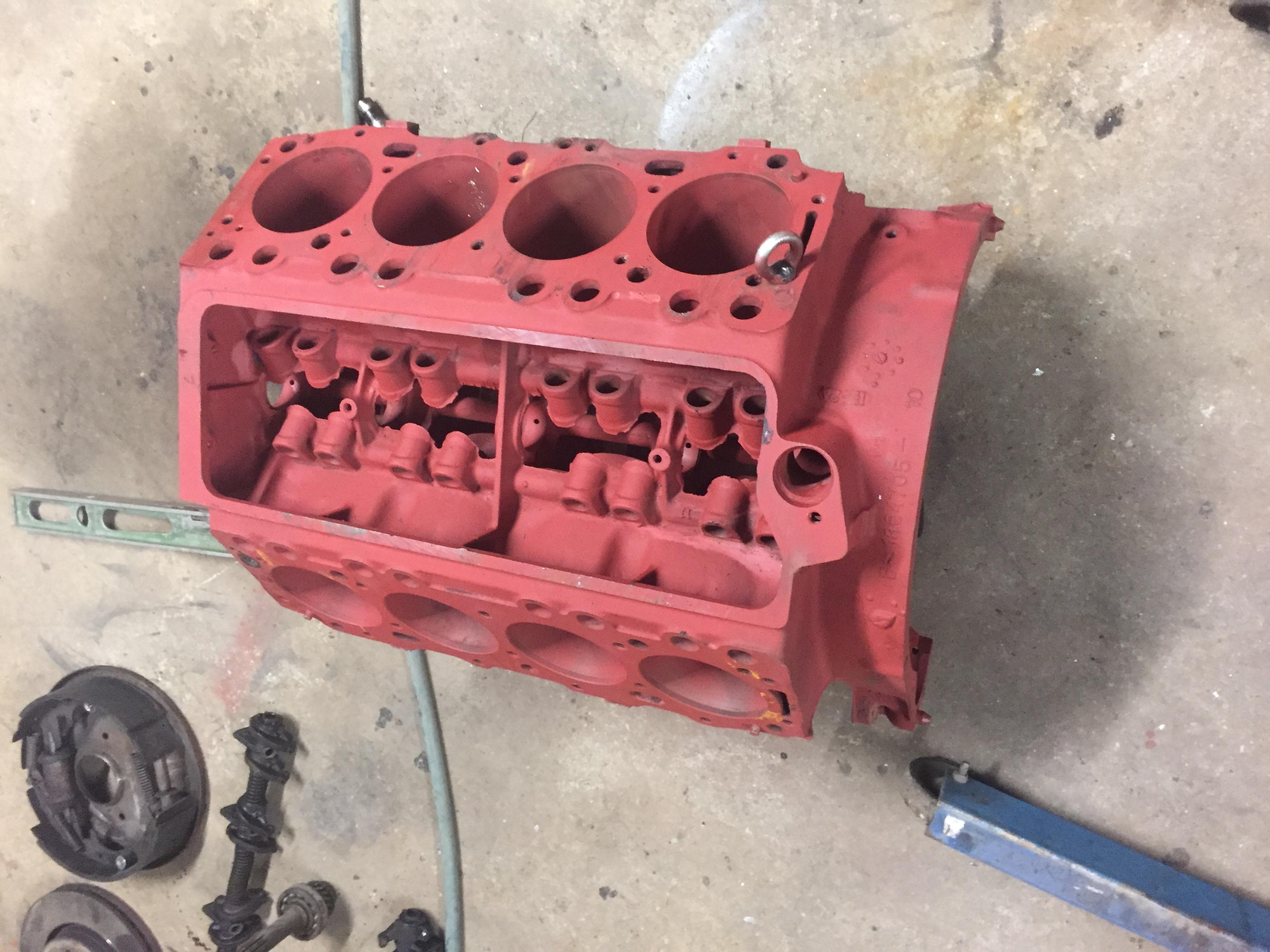 V8 with primer