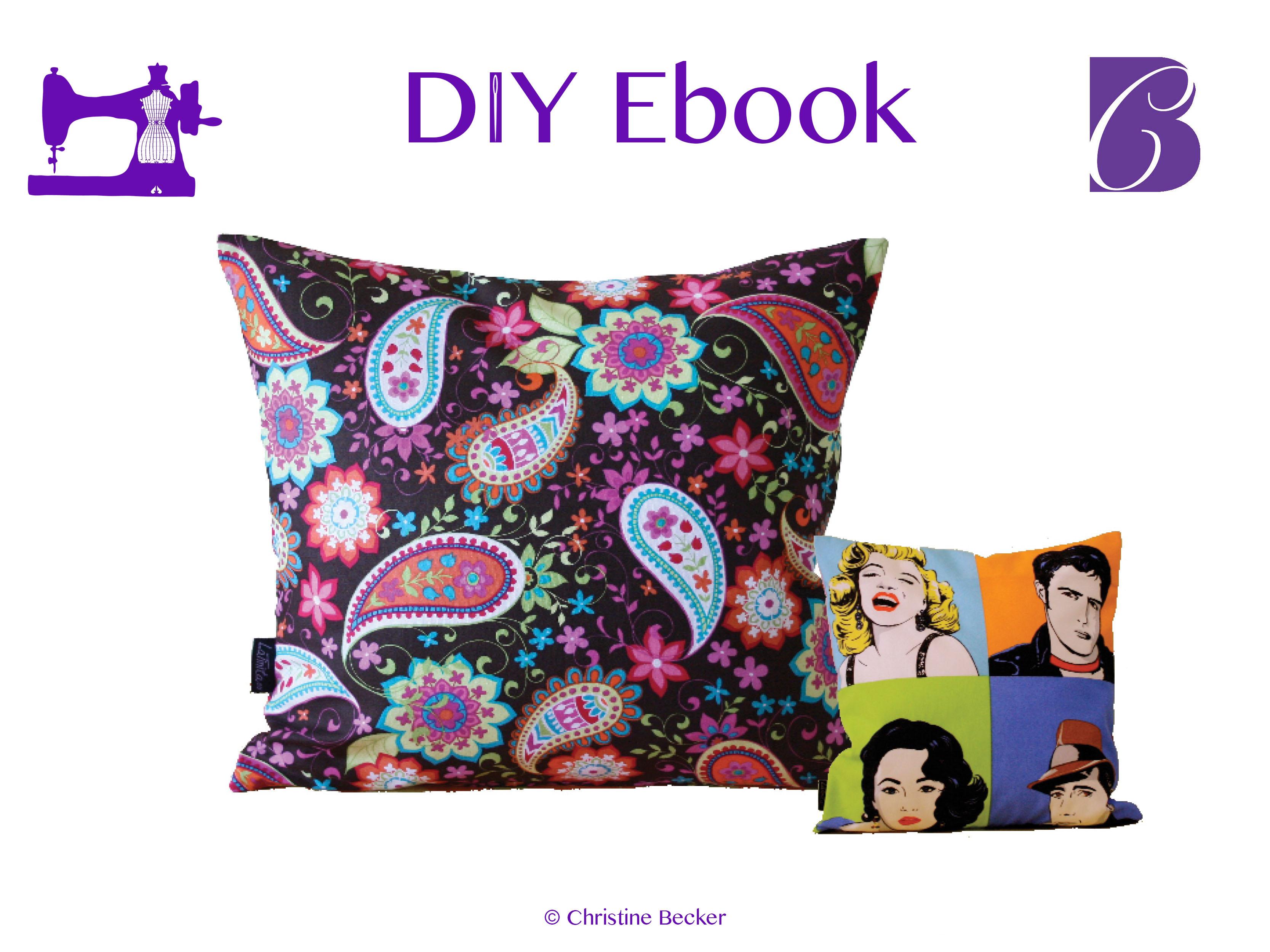 DIY E-Book Putetrekk med glidelås