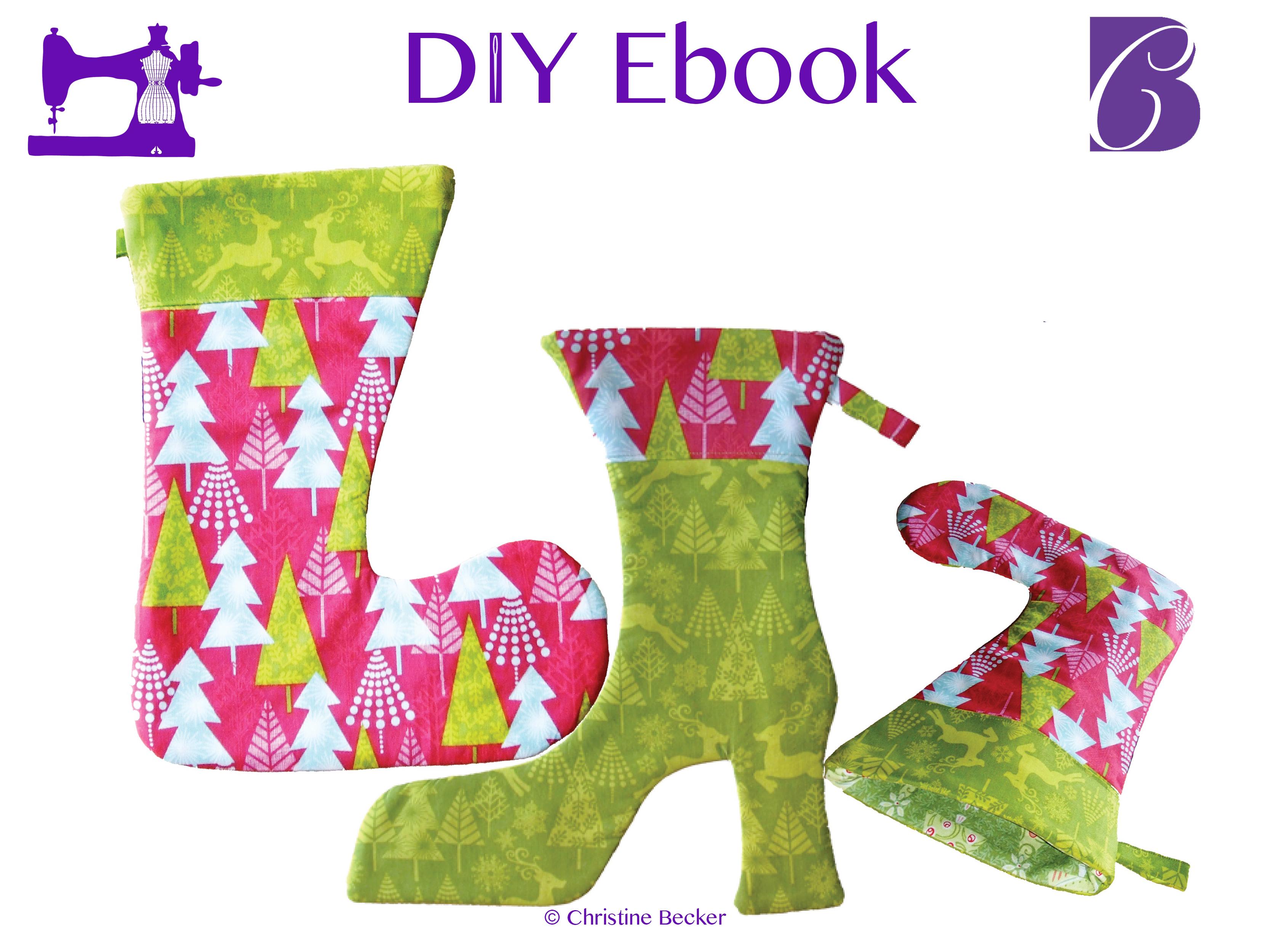 DIY E-Book Julesokker, Julepynt