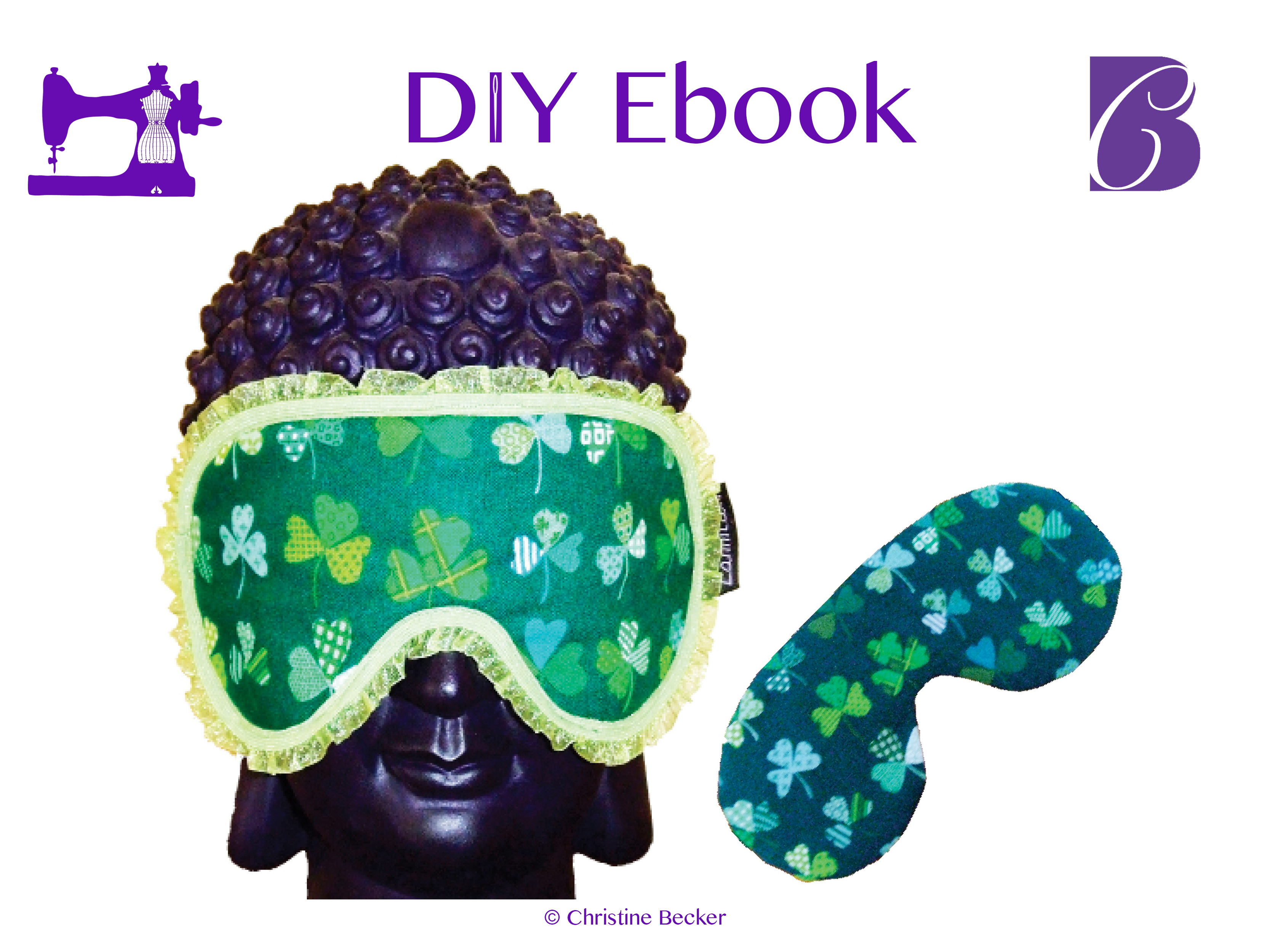 DIY E-Book Sovemaske