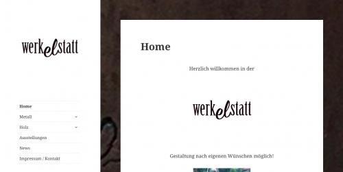 Nettside werkelstatt (tysk)